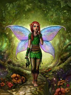 Fairy~sirtiefling-