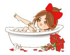 Cartoon Girl Images, Cute Cartoon Pictures, Cute Love Pictures, Cute Love Gif, Cute Love Cartoons, Cartoon Gifs, Cute Cartoon Wallpapers, Girl Cartoon, Cartoon Drawings