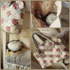 L'Atelier Perdu Blog: Grandmother's Flower Garden...