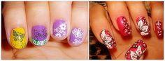 cute easy nail designs #prom nail art