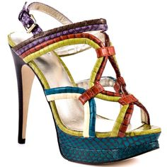 30% off Nadira snake heel by Pelle Moda  The Porcupine  843-785-2779  The Village at Wexford E4