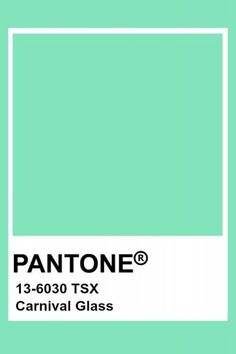 Color trend 2020 neo mint : be inspired by the best inspiration in minth and seafoam green in interiors and design Mint Pantone, Pantone Verde, Mint Green Paints, Seafoam Green Color, Green Colors, Aesthetic Header, Mint Green Aesthetic, Pantone Colour Palettes, Pantone Color
