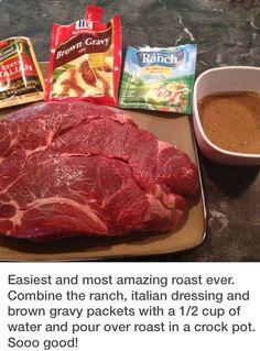 Crockpot Roast Recipe.
