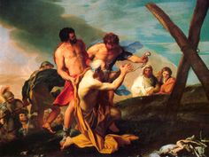 Carlo Maratta, The Martyrdom of Saint Matthew ?, 1656
