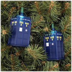 Dr. Who Tardis Light Set for Christmas tree