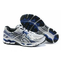 5d1dbc12f61 l81f Zapatos Asics Kayano 17 Hombre Blanco Azul Asics Shoes