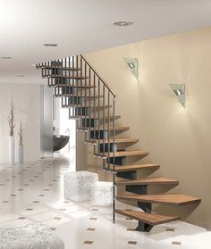 Metal Modern Staircase Design