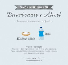 Como limpar inox: 13 maneiras seguras e cuidados essenciais Bathroom Cleaning Hacks, Cleaning Tips, Personal Organizer, Home Health Care, Postcard Design, Green Cleaning, Life Organization, Home Hacks, Life Skills
