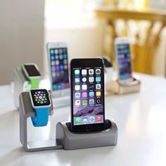 If you're an early adopter that paid a good amount of money for an Apple Watch - you definitely want to get your hands on a dock that lets your new gadget refuel in style! @AntsyLabs' Duet Dock is designed to charge your Apple Watch and iPhone together.