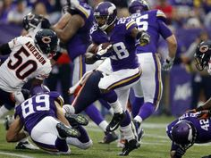 Adrian Peterson and the Minnesota Vikings hold on to win in ot  23-20