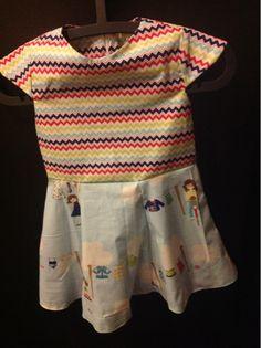 Van A tot Zetje: Kleedjes voor zomermeisjes waslijnkleedje