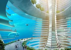 Futuristic Floating City Could Soon Become a Reality - My Modern Metropolis