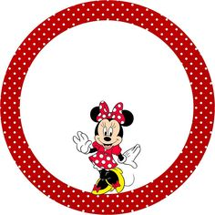 Minnie Mouse Stickers, Mickey E Minnie Mouse, Mickey Love, Mickey Mouse Parties, Diy Photo Booth Props, Mickey Mouse Decorations, Kids Labels, Hello Kitty, Minnie Birthday