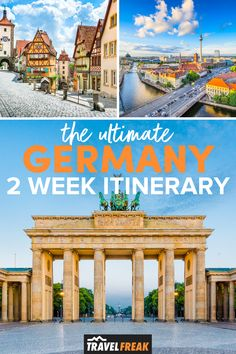 Plan the ultimate two weeks in Germany with this two week Germany itinerary. A Germany travel guide will help you plan your visit to Berlin, Munich and Nuremburg as well as seeing the city and countryside sights and things to do in Germany to make the most of your trip | germany travel destinations things to do | germany travel destinations cities | germany travel destinations bucket lists | germany travel itinerary | germany 2 week itinerary Europe Travel Outfits, Top Travel Destinations, Europe Travel Tips, Packing Tips For Travel, Travel Guides, Cities In Germany, Germany Travel, International Travel Tips, Dream Vacations