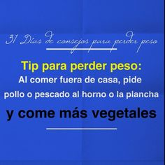 Spanish health tip