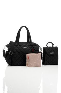 Storksak 'Bobby' Four Piece Diaper Bag available at #Nordstrom