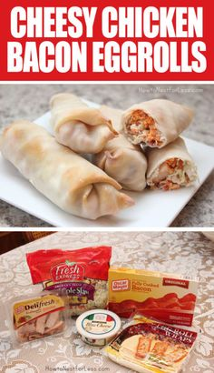 Love this version of an eggroll. Anything is better with bacon, right?