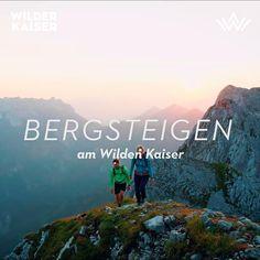 """Bergsteigen - Klettern – Klettersteige. Die Region Wilder Kaiser bietet nicht nur berühmten Kletterprofis wie den bayerischen """"Huber Buam"""" oder dem einheimischen Guido Unterwurzacher perfekte Gegebenheiten. Ob an der Felswand oder im Wasser, zu Fuß oder auf dem Bike unterwegs – in den Bergen, Tälern, Schluchten und Felsen rund um die Orte Ellmau, Going, Scheffau und Söll lassen sich die Natur und ihre Elemente unmittelbar berühren und erfahren. #APARTdeluxefeelsgood🌞 #activeholiday🥾 Skiing, Movie Posters, Movies, Videos, Bike Trails, Mountaineering, Hiking Trails, Summer Vacations, Ski"""