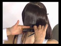 Из длинных волос в градуированное каре. Of long hair in a graded bob - YouTube