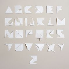 Paper Typography by ~Anarcotique on deviantART