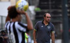 """BotafogoDePrimeira: Ricardo Gomes exalta reação e destaca: """"Bom jogo, ..."""