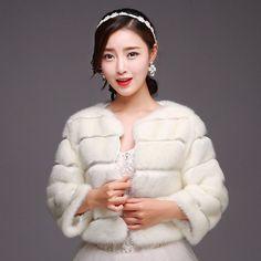 Winter Warm Faux Fur Women Coat Plush Wool Blend Long Striped Hariy Female Jacket Open Stitch Thickening Fox Fur Overcoat Bolero