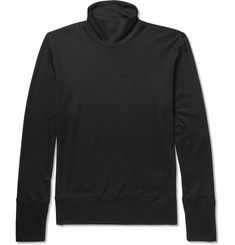 Bottega VenetaSilk and Cotton-Blend Rollneck Sweater