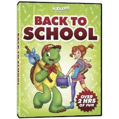 - Back to School is a fantastic collection that includes 10 episodes of your favorite shows! Enjoy Franklin, George Shrinks, Elliot Moose and Timothy Goes To School on this DVD! Best Brand, Back To School, Education, Moose, Fun, Collection, Cats, Gatos, Mousse