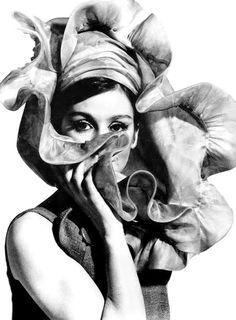 Audrey Hepburn, née Hepburn-Ruston, of the Baroness Van Heemstra (1929-1993) by Puhlmann