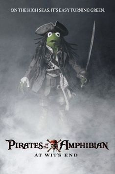 Pirates of the Amphibian (The Muppets // Los Muppets // Los Teleñecos) Miss Piggy, Jim Henson, Die Muppets, Sapo Meme, Fraggle Rock, The Muppet Show, Kermit The Frog, Pirate Life, Disney Theme