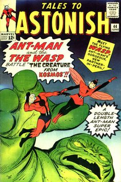 appearance of Wasp in Tales to Astonish (Jun cover by Jack Kirby & Don Heck Marvel Comics, Marvel Comic Books, Comic Book Characters, Marvel Characters, Comic Books Art, Book Art, Comic Art, Marvel Vs, Jack Kirby