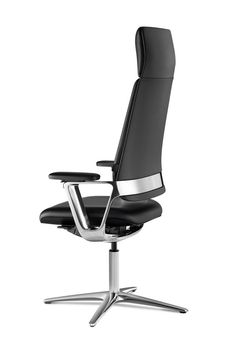 Klöber Connex2 highback conference chair on glides