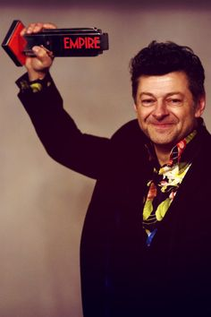 Andy Serkis wins Best Actor @ EMPIRE Awards (3/29/2015)