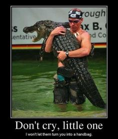 Protecting The Crocodile - Posted in Funny, Troll comics and LOL Images - Mix Pics