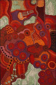 Sandra Ken - 'Seven Sisters' | Aboriginal Art | Outstation