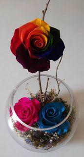 Rosas Preservadas Santa Ana El Salvador Centros de Mesa