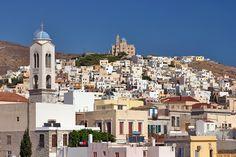 Paros, Santorini, Places To See, Paris Skyline, Greece, Dolores Park, Island, Stock Photos, Landscape