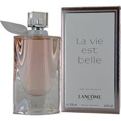 Lancome La Vie Est Belle L'Eau Eau De Toilette Spray, 3.4 Ounce * Check out the image by visiting the link.