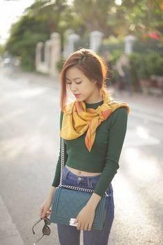 Hoàng Thùy Linh - street style