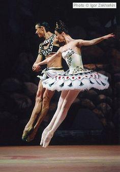 The Pharaoh's Daughter- Svetlana Zakharova and Sergei Filin. ♥ Wonderful! www.thewonderfulworldofdance.com #ballet #dance