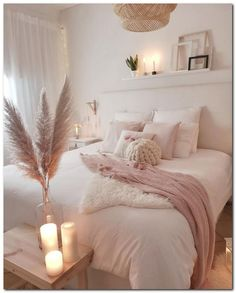 45 Cozy Teen Girl Bedroom Design Trends for 2019 Page 33 of 45 Cozy bedroom; The post 45 Cozy Teen Girl Bedroom Design Trends for 2019 Page 33 of 45 appeared first on Bedroom ideas. Home Decor Bedroom, Living Room Decor, Modern Bedroom, Contemporary Bedroom, Blush Bedroom Decor, Bedroom Romantic, Diy Bedroom, Stylish Bedroom, Blush Pink Bedroom