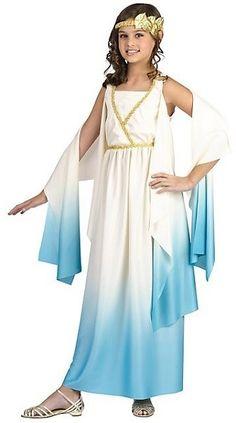 Greek Goddess Costume on www.amightygirl.com