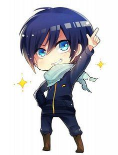 Yato the wonderful god that he is kawaii chibi, anime chibi, Anime Noragami, Manga Anime, Yato And Hiyori, Fanarts Anime, Anime Art, Kawaii Anime, Chibi Kawaii, Chibi Boy, Cute Chibi