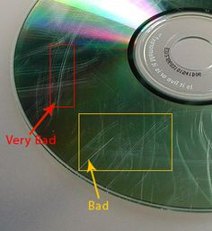 how to fix a scratched dvd or CD – Data Recovery