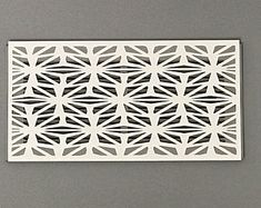 Magnetic Vent Covers For A Decorative Touch In Any Room by ReVentDesigns Wall Vent Covers, Return Air Vent, Gothic Pattern, Magnetic Wall, White Vinyl, Home Repair, Wall Colors, Etsy, Magnets