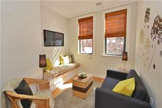 Urban Oasis - Living Room design idea as seen on www.interiordesignpro.org