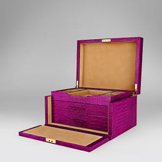 Three Drawer Jewellery Box - Smythson United States