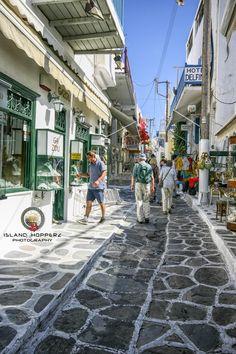 Touring Mykonos