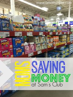 Being a parent can be really expensive. Here are a few ways I keep saving money as a mom. #MomSavesAtSamsClub #ad