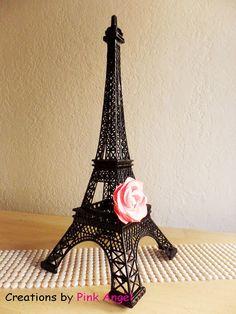 15 Black Eiffel Tower Replica Metal Eiffel by CreationsByPinkAngel